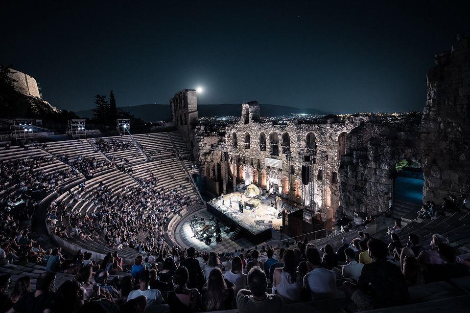 Herodes Atticus Odeon // Monteverdi's Il ritorno d'Ulisse in patria // Athens Festival 2020 // © Stavros Habakis